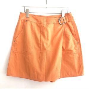 🧡VINTAGE Liz Claiborne Orange Skort